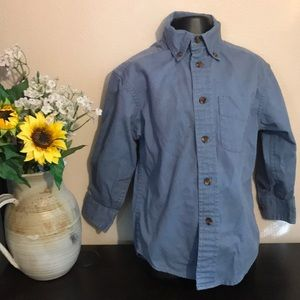 100%Cotton Button Down Too